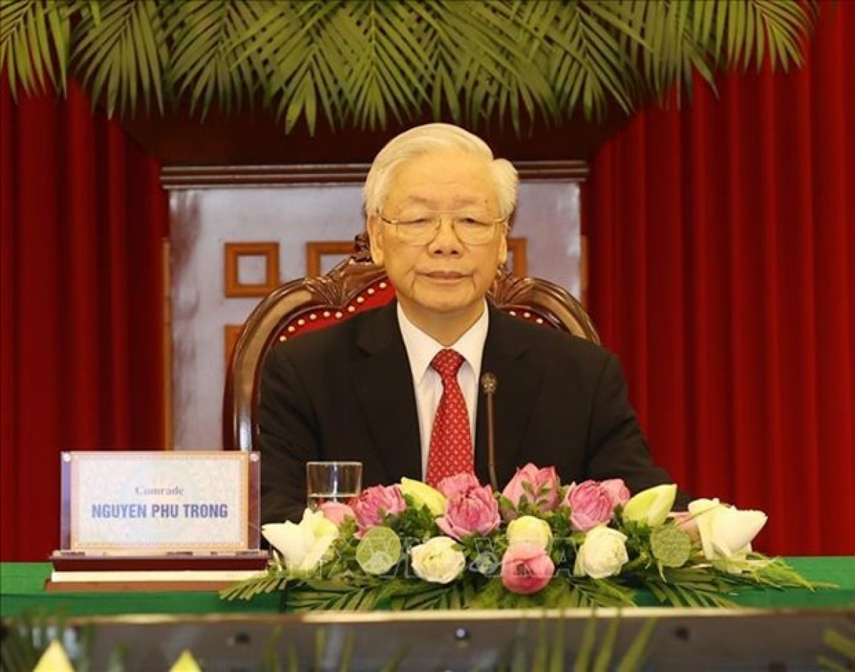 General Secretary of the Communist Party of Vietnam (CPV) Central Committee Nguyen Phu Trong (Photo: VNA)