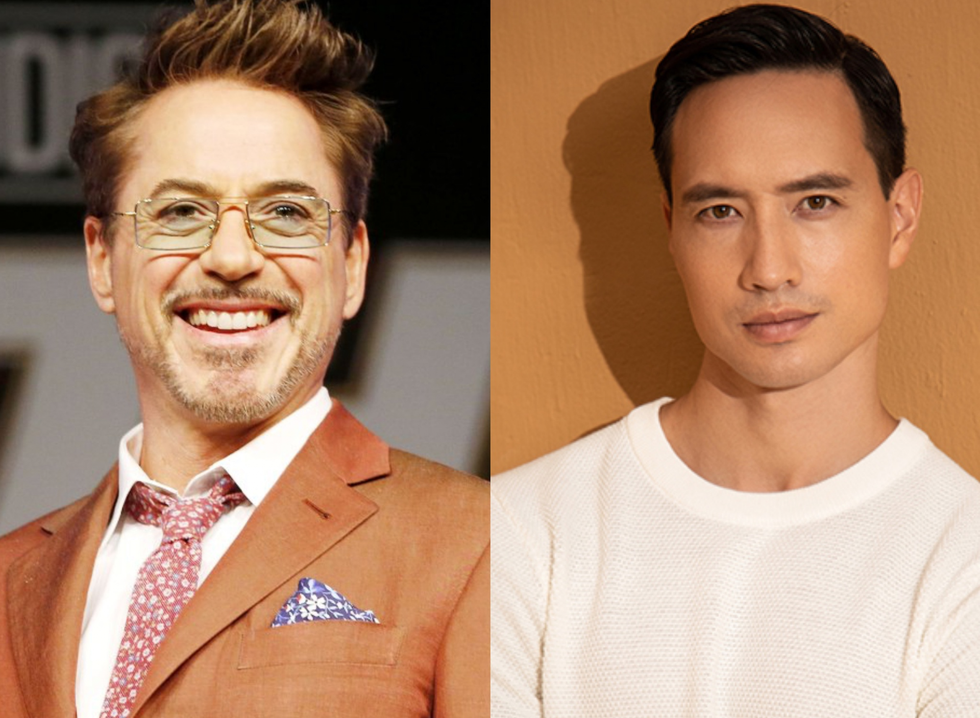 Robert Downey Jr. shake hands with Kim Ly and top filmmakers to create a TV work with Vietnamese colors