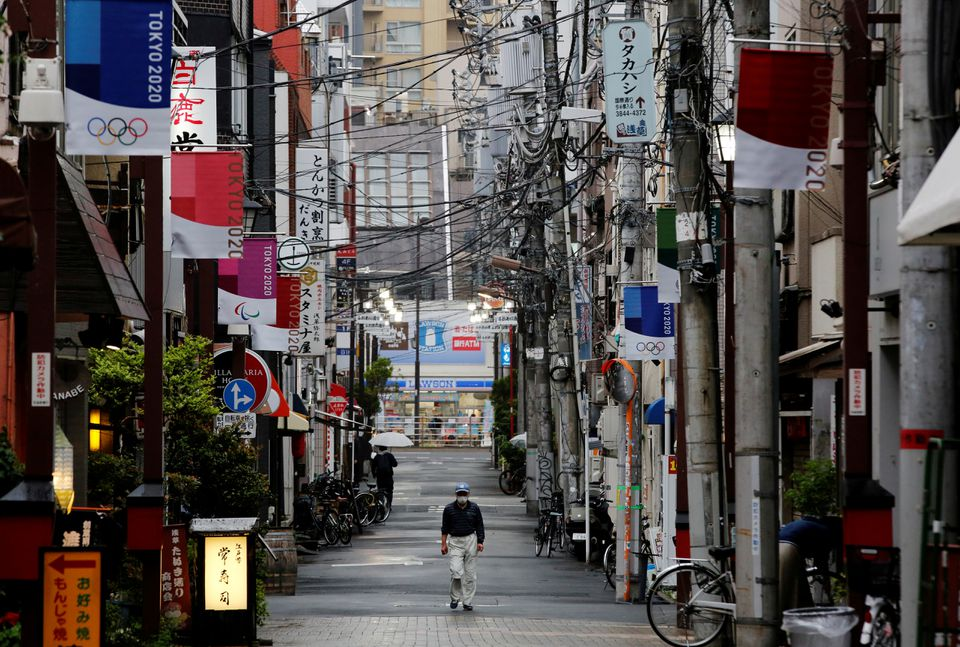 'Severe' Covid-19 Cases Surge in Tokyo While New Tropical Storm Spares Olympics