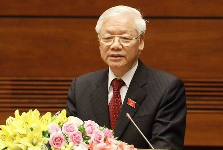 Party Chief Nguyen Phu Trong Calls For Concerted Efforts To Combat COVID-19