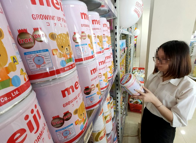 confused information of imported powdered milk contains carcinogens