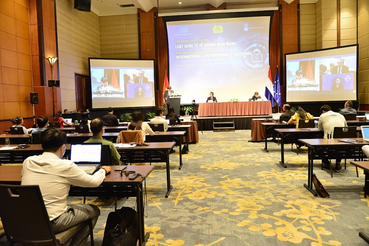 international law in cyberspace the foundation to ensure human rights and national interests