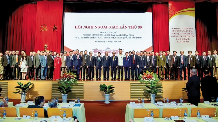 """""""Vietnam Diplomacy: 75 years together with the nation, devoting itself to the Fatherland and people"""""""