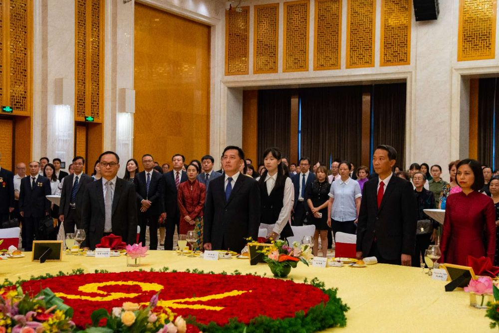 vietnams national independent day marked in chinas kunming
