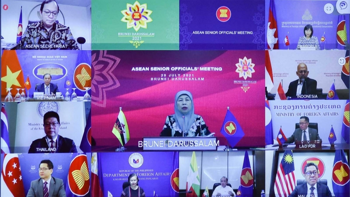 Senior ASEAN officials have met to prepare for the 54th ASEAN Foreign Ministers Meeting.