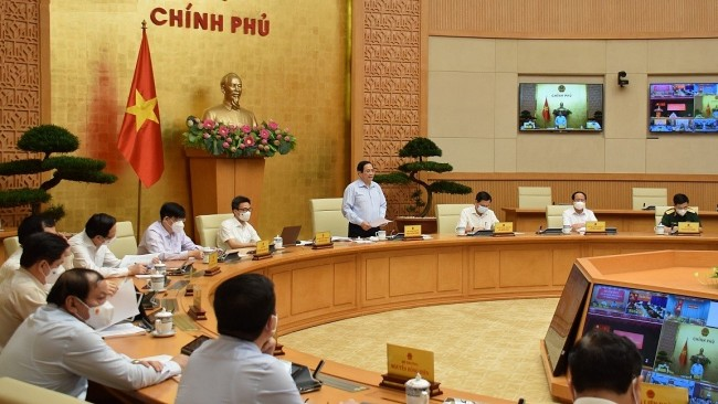 Government Chief Orders Priority to Fight Covid and Solve Difficulties in Investment, Business