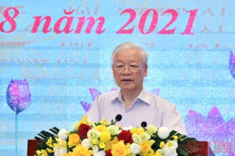 Party Leader Attends Vietnam Fatherland Front's National Conference