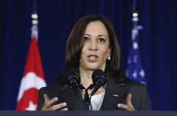 US Vice President Kamala Harris Says Beijing continues to 'coerce' in South China Sea