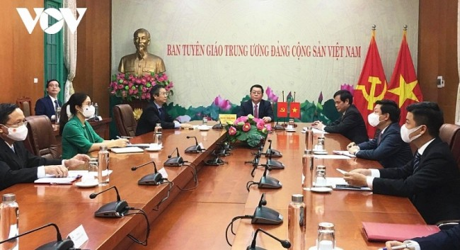 Vietnam, China Boost Cooperation in Theoretical Research, Journalism