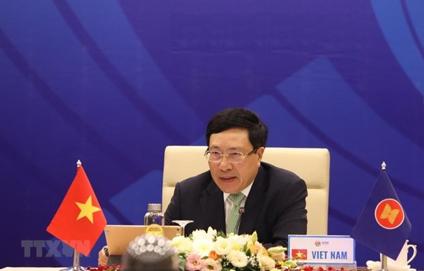 The 53rd ASEAN Foreign Minister's Meeting held online September