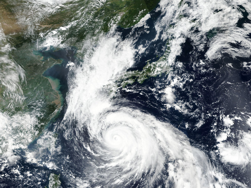 Super Typhoon Haishen predictedly record-breaking hits Okinawa Japan Sunday