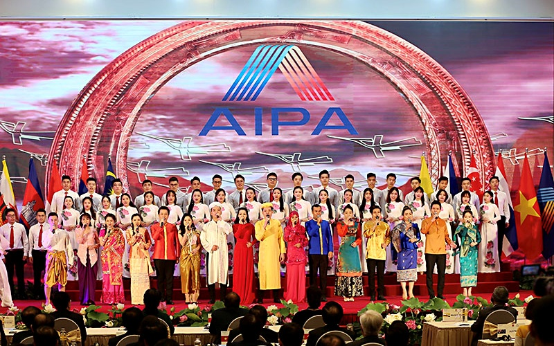 AIPA's 41st General Assembly opening with ASEAN cultural diversity on display
