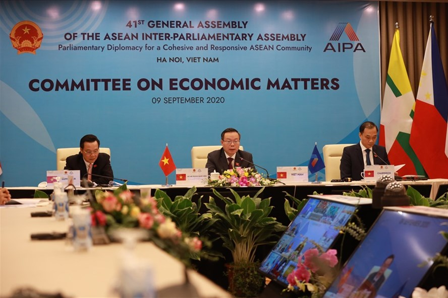aipa seeks sustainable peace and co operation promoting central role of asean