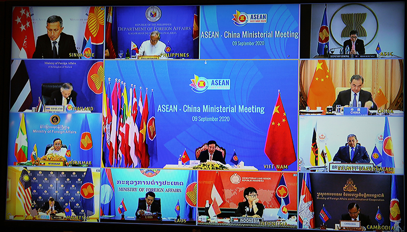 asean strengthening cooperation with china japan rok