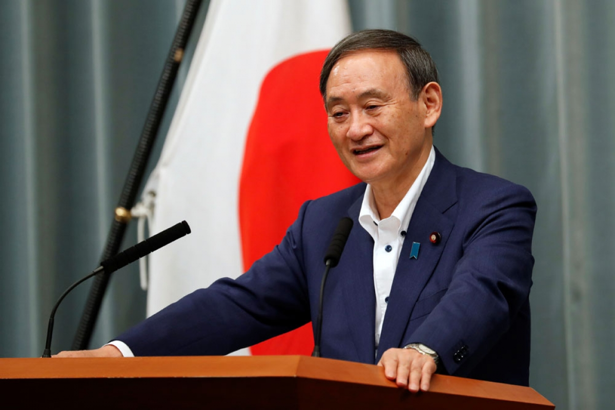 Who is Japan's new Prime Minister officially?