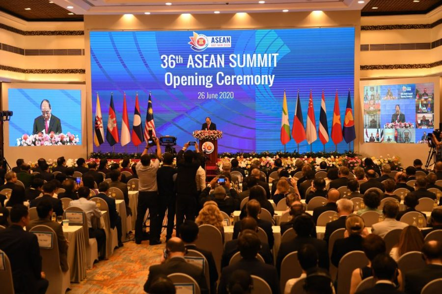 Asean balances the US China confrontation, expert