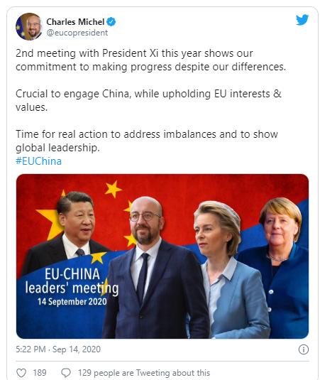 some disagreements dominate eu china summit