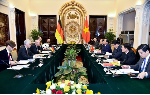 vietnam germany 45 years of cooperation for mutual development