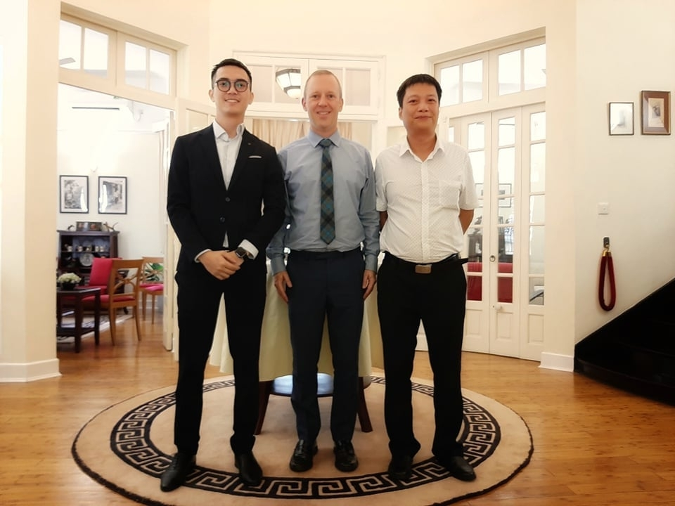 vietnam police officers detached to the uk from cooperating in anti human trafficking
