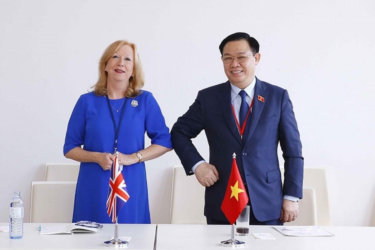 Vietnamese Top Legislator Meets  High Ranking Leaders During His Work Trip in Austria