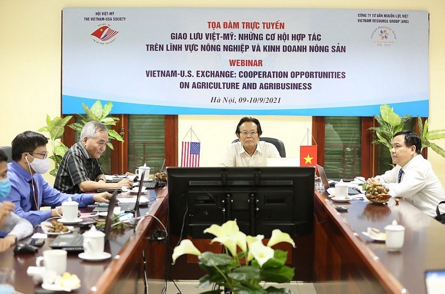 Vietnamese, American Companies Discuss Agribusiness Cooperation Online