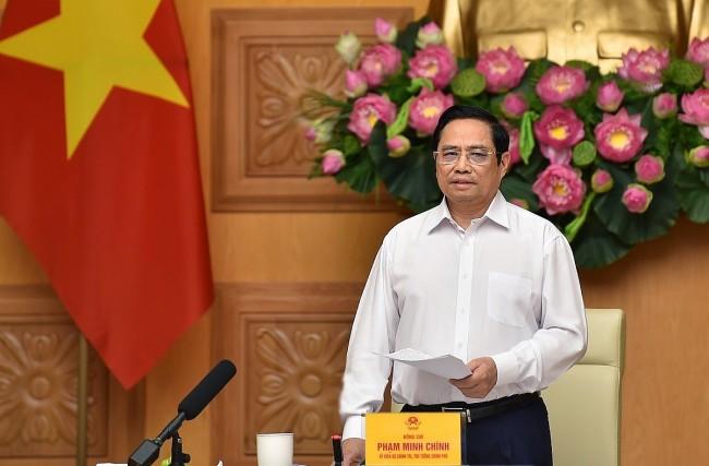 PM Assures EU Businesses of Vietnam's COVID-19 Prevention Measures