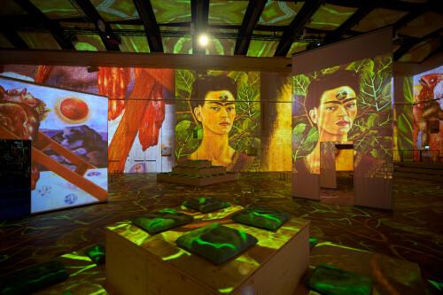 World premiere: Viva Frida Kahlo – Immersive Experience