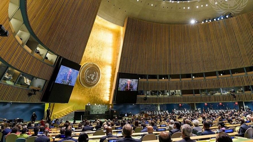 Heads of State and Government and high-ranking representatives of 193 United Nations member states are attending the 76th session of the UN General Assembly getting underway in New York, the US. (Photo: UN)