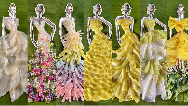 Vietnamese Fashion Designer Introduces Southern Cuisine Through Fashion Made From Specialities