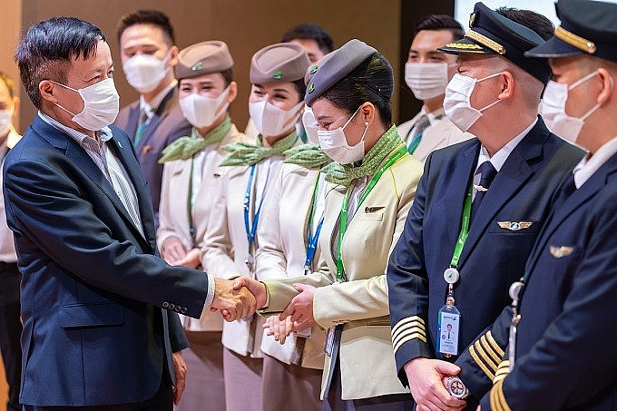 Mr. Nguyen Ngoc Trong, Deputy General Director of Bamboo Airways.