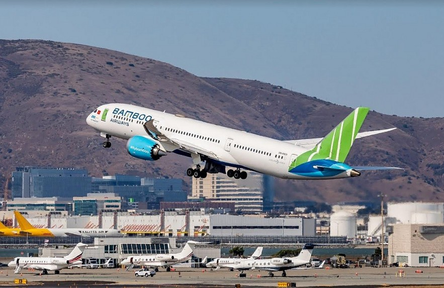Bamboo Airways to Welcome the First Special Authorization Vietnam-US Flight at San Francisco International Airport