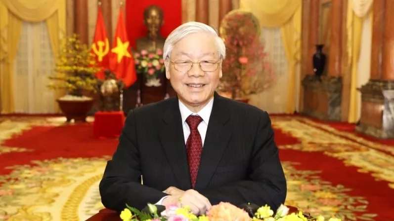 Party General Secretary and State President extends congratulations on the 75th Traditional Day of the Vietnam Meteorological and Hydrological Sector