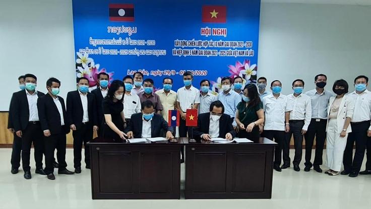 vietnam laos strengthen cooperation for 2021 2030 period