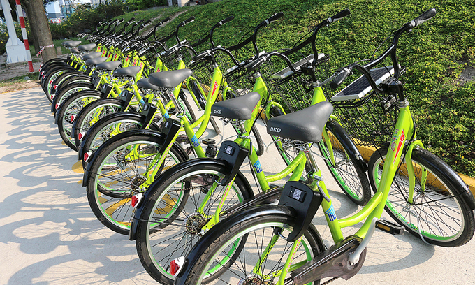 hochiminh citys new bike sharing scheme for downtown