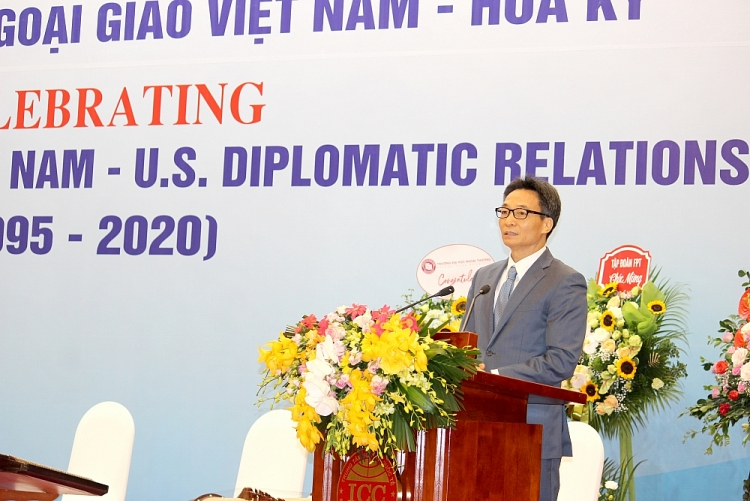 vietnam us diplomatic relations 25th anniversary a fruit of peoples courage goodwill and efforts