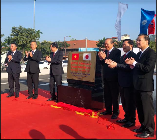 hanois jica funding south ring road no 3 officially opens to traffic