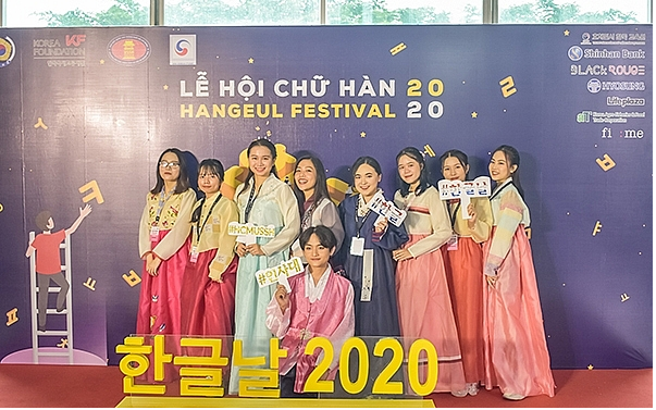 hangeul festival 2020s cultural exchanges excites vietnamese youth