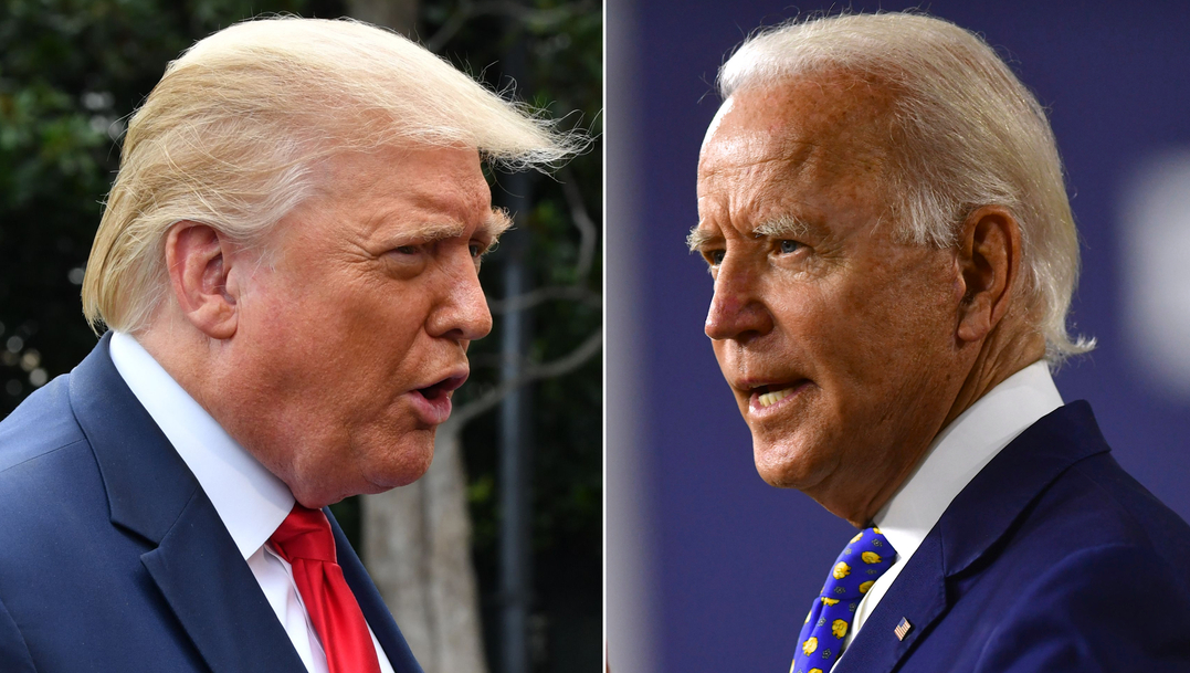 new match of donald trump and joe biden