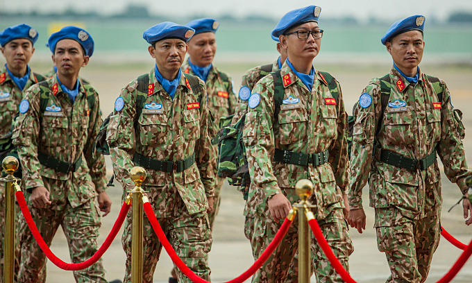 Vietnamese readied to join UN peacekeeping missions