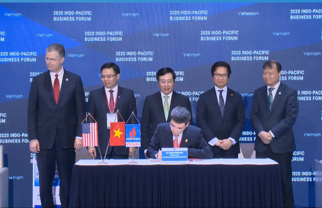 vietnam us signed billions of us dollar agreements on gas power plants at ipbf 2020