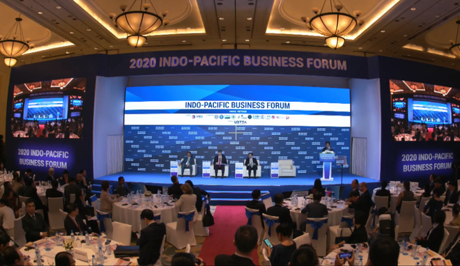 the indo pacific business forum ipbf 2020 welcomed in hanoi
