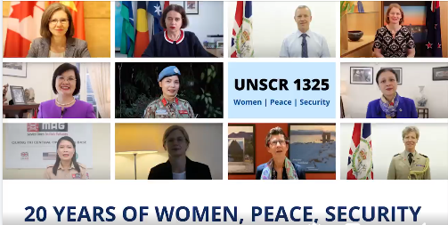women key role playing to the worlds peace and security unscr1325