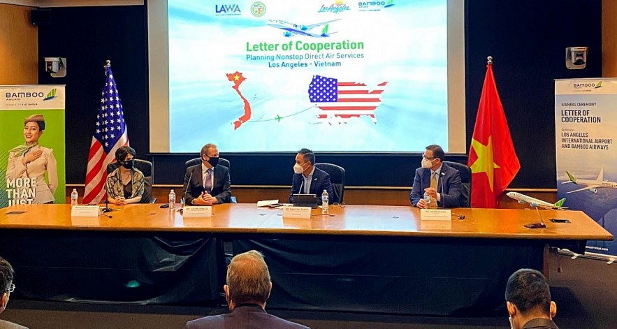 Bamboo Airways Becomes Los Angeles' First Vietnamese Airline Commercial Partner to Launch Vietnam – US Nonstop Flights