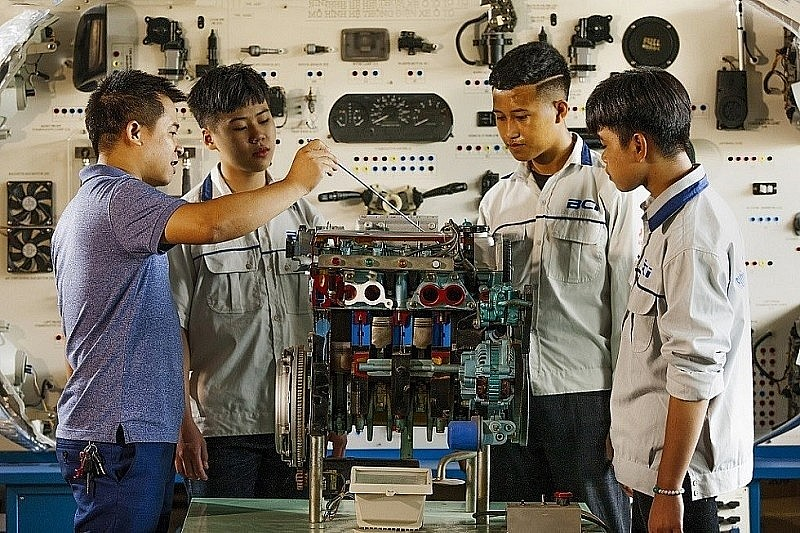 Vocational education is one of the exciting cooperation fields of Vietnam-Germany relations. (Source: GIZ)