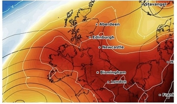 uk and europe weather forecast latest november 8 temperatures rising above average for in britain