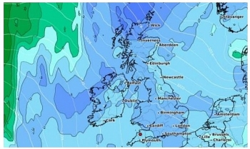 uk and europe weather forecast latest november 6 temperatures plunge with maps showing most of the uk turning icy blue