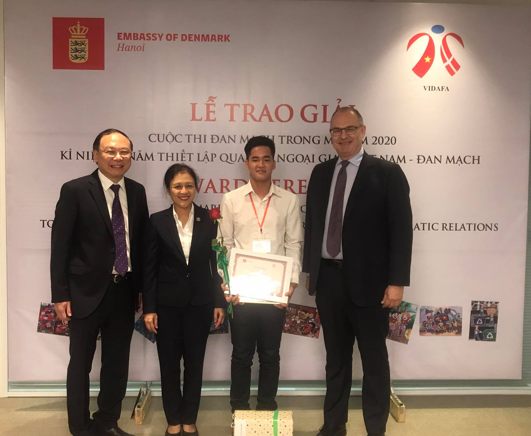 "Successful ""Denmark in Your Eyes 2020"" contest in Vietnam announcing winners"