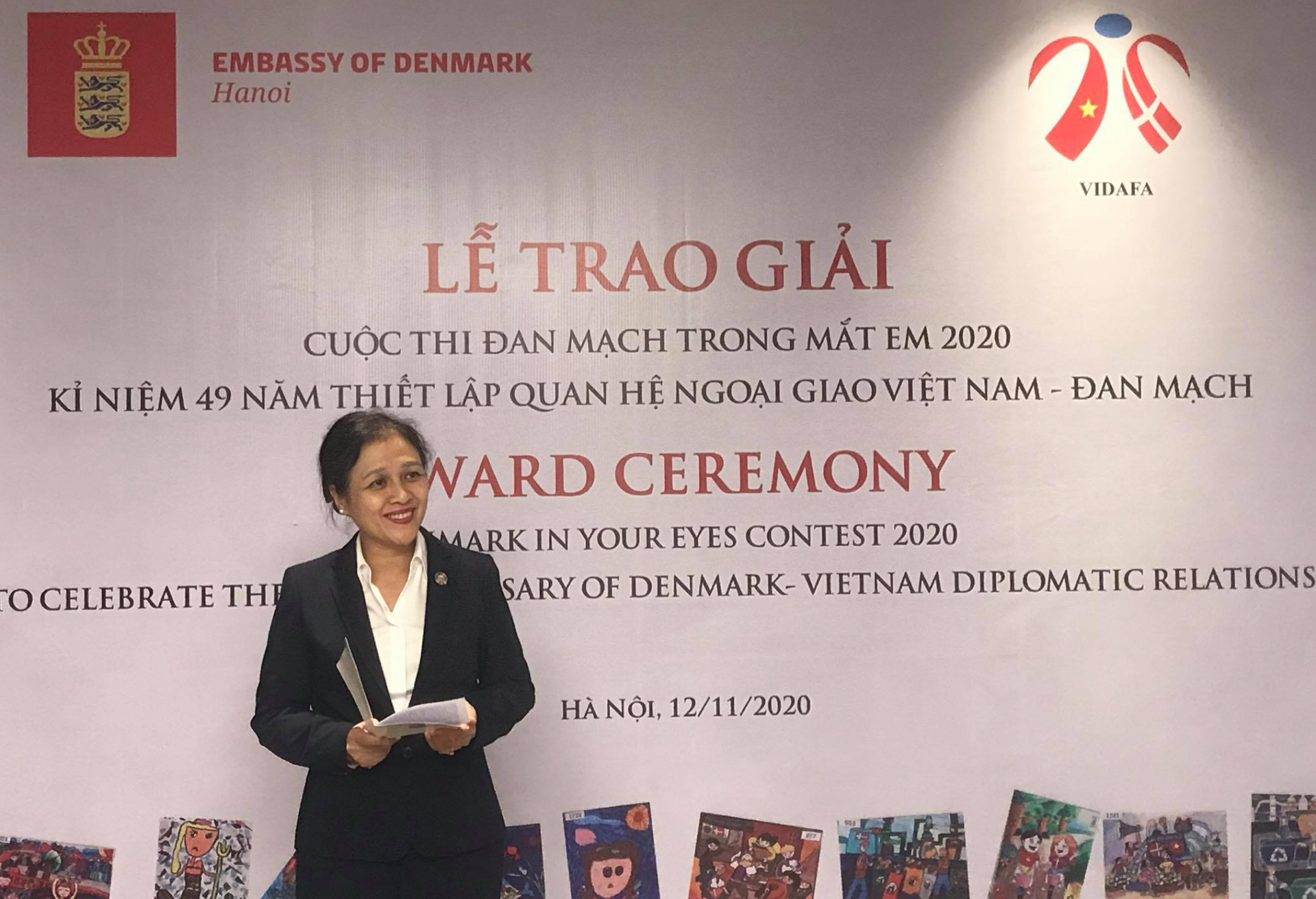 """Successful """"Denmark in Your Eyes 2020"""" contest in Vietnam annoucing winners"""