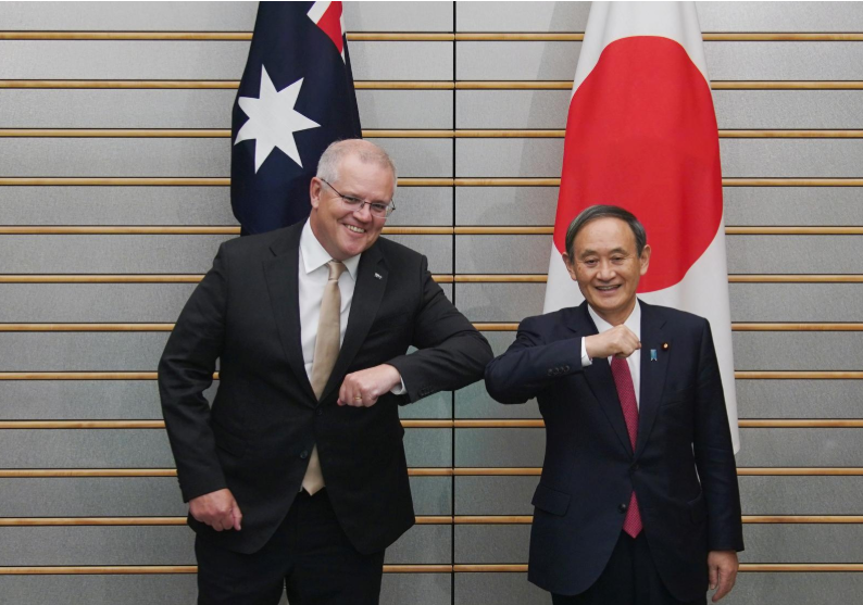 japan australia agree on security pact amid fears over disputed south china sea bien dong sea