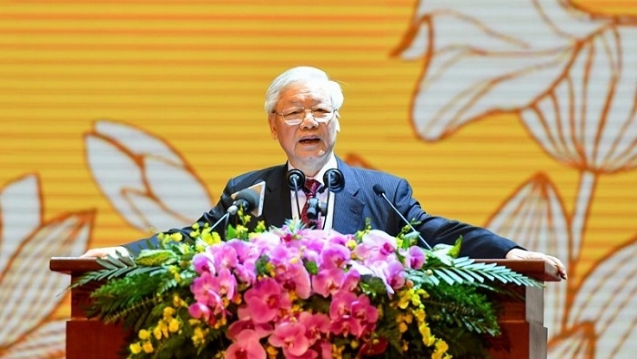 solidarity creates power for vietnamese nation top leader